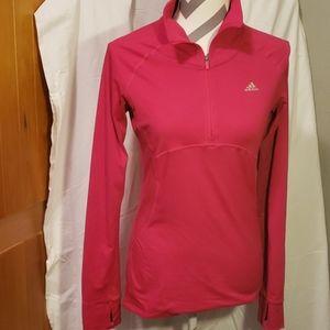 Adidas Climalite Womens Long Sleeve Shirt Small